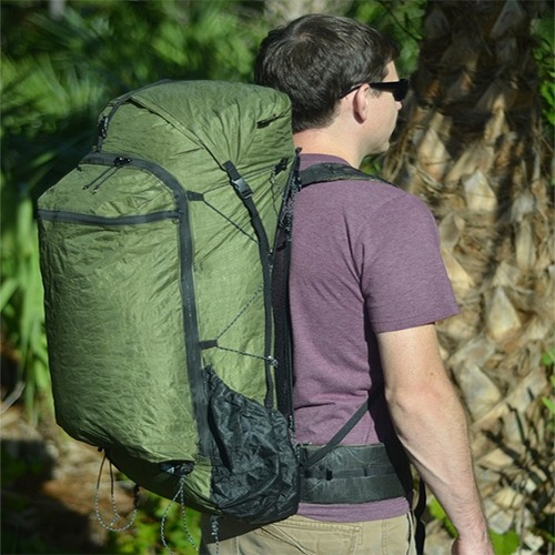 Zpacks- Arc Zip Backpack 57L 배낭 ( green)