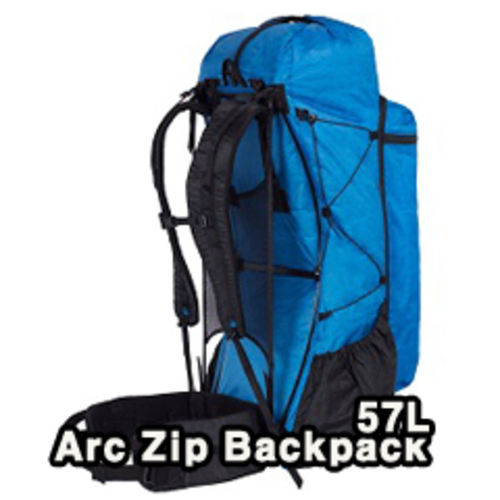 Zpacks- Arc Zip Backpack 57L 배낭 (blue)